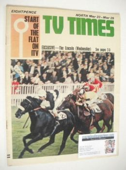 TV Times magazine - The Lincoln cover (23-29 March 1968)