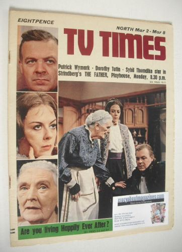 <!--1968-03-02-->TV Times magazine - The Father cover (2-8 March 1968)