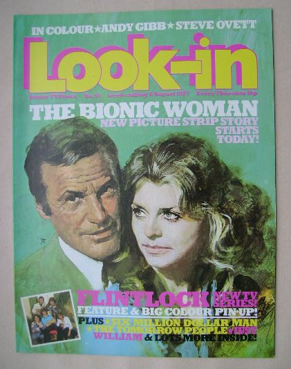 <!--1977-08-06-->Look In magazine - 6 August 1977