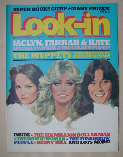 <!--1977-07-02-->Look In magazine - Charlie's Angels cover (2 July 1977)