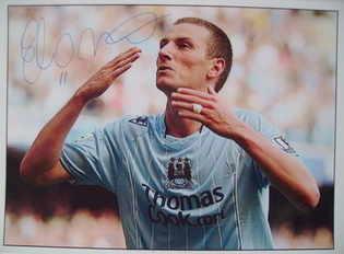 Elano autograph (ex-Manchester City player)