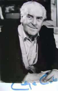George Cole autograph (hand-signed photograph)