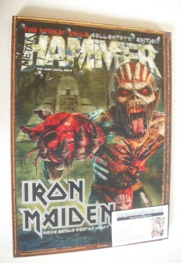 <!--2015-09-->Metal Hammer magazine - Iron Maiden cover (September 2015)