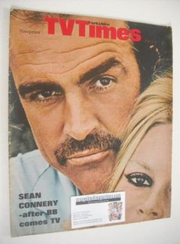 TV Times magazine - Sean Connery cover (1-7 February 1969)