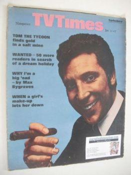 TV Times magazine - Tom Jones cover (11-17 January 1969)