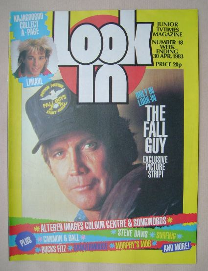 <!--1983-04-30-->Look In magazine - Lee Majors cover (30 April 1983)