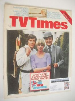 TV Times magazine - The New Avengers cover (16-22 October 1976)