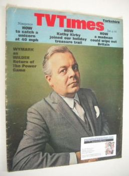 TV Times magazine - Patrick Wymark cover (4-10 January 1969)