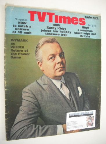 <!--1969-01-04-->TV Times magazine - Patrick Wymark cover (4-10 January 196