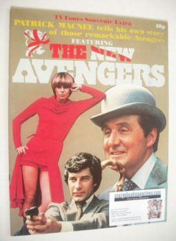 TV Times Souvenir Extra magazine - The New Avengers cover (1976)