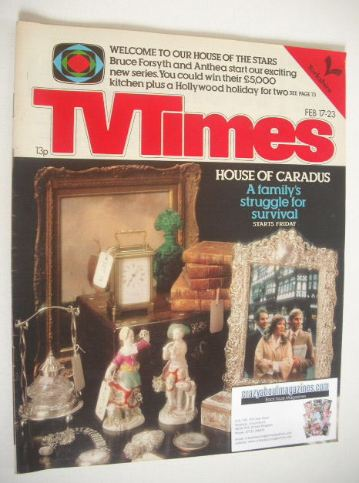 <!--1979-02-17-->TV Times magazine - House Of Caradus cover (17-23 February