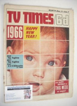 TV Times magazine - Happy New Year cover (31 December 1965 - 7 January 1966)