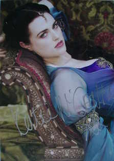Katie McGrath autograph