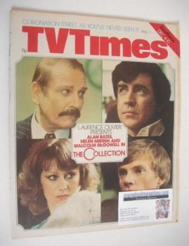 TV Times magazine - The Collection cover (4-10 December 1976)