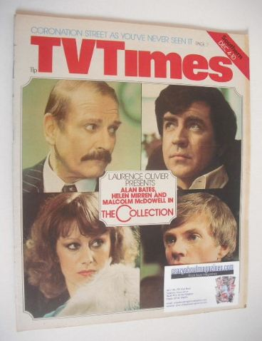 <!--1976-12-04-->TV Times magazine - The Collection cover (4-10 December 19