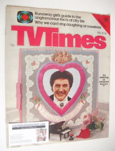 <!--1979-02-10-->TV Times magazine - Liberace cover (10-16 February 1979)