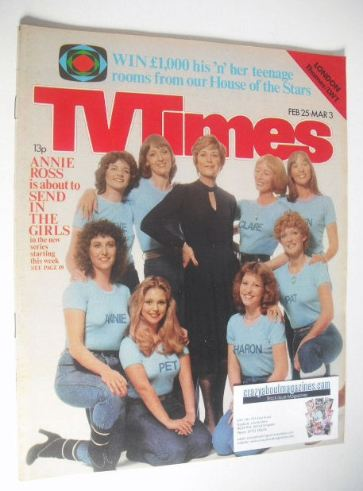 <!--1978-02-25-->TV Times magazine - Annie Ross cover (25 February - 3 Marc