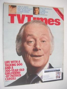 TV Times magazine - Patrick Cargill cover (21-27 August 1976)