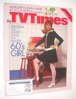 TV Times magazine - Carol Drinkwater cover (21-27 June 1975)