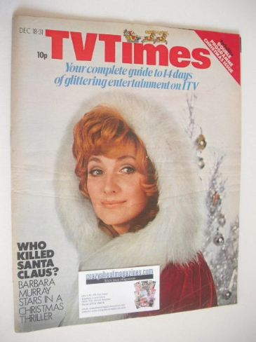 <!--1971-12-18-->TV Times magazine - Christmas Issue (18-31 December 1971)
