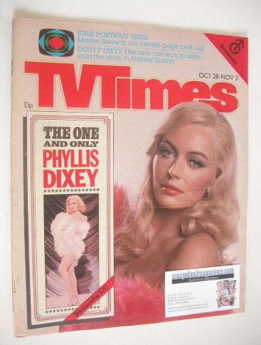 <!--1978-10-28-->TV Times magazine - Lesley-Anne Down cover (28 October - 3