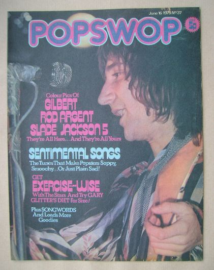 <!--1973-06-16-->Popswop magazine - 16 June 1973 - Rod Stewart cover