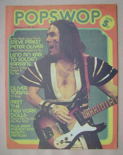 <!--1974-02-09-->Popswop magazine - 9 February 1974