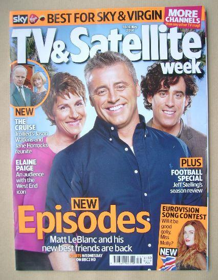 <!--2014-05-10-->TV&Satellite Week magazine - Episodes cover (10-16 May 201