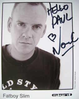 Norman Cook (Fatboy Slim) autograph
