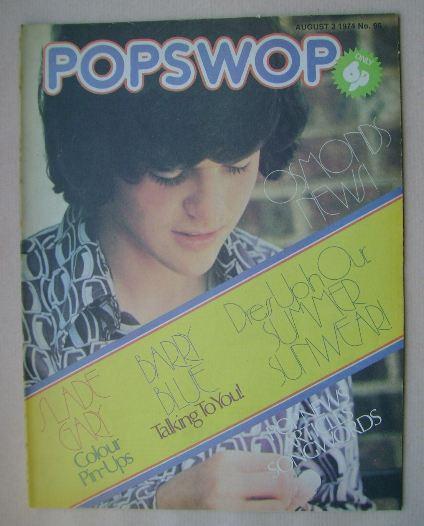 <!--1974-08-03-->Popswop magazine - 3 August 1974