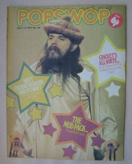 <!--1974-07-13-->Popswop magazine - 13 July 1974