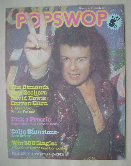 <!--1973-12-15-->Popswop magazine - 15 December 1973 - Gary Glitter cover