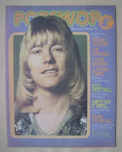 <!--1974-03-23-->Popswop magazine - 23 March 1974