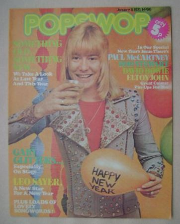 <!--1974-01-05-->Popswop magazine - 5 January 1974