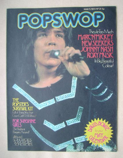 <!--1973-05-05-->Popswop magazine - 5 May 1973