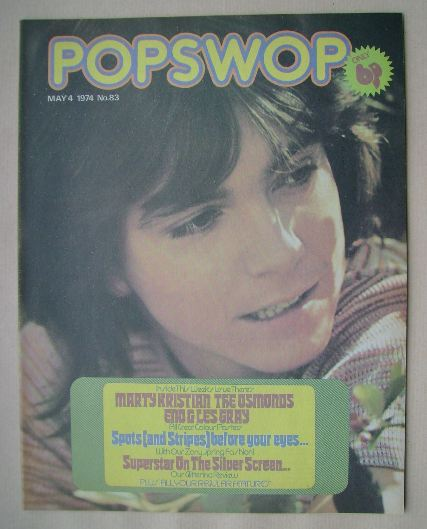 <!--1974-05-04-->Popswop magazine - 4 May 1974 - David Cassidy cover