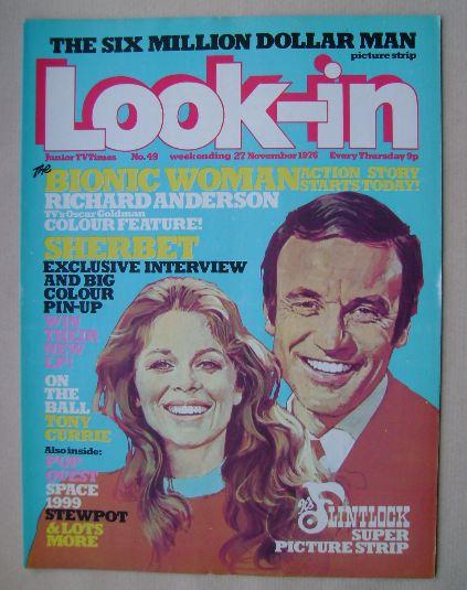 <!--1976-11-27-->Look In magazine - 27 November 1976