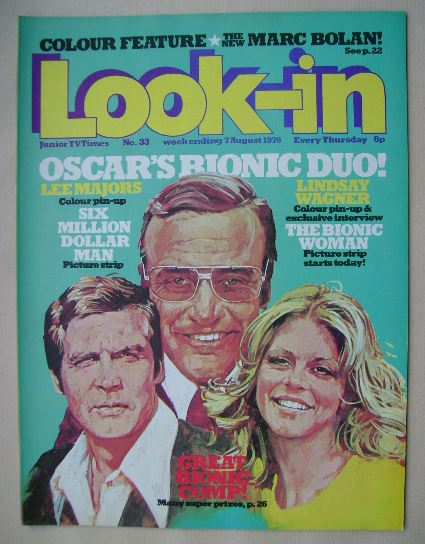 <!--1976-08-07-->Look In magazine - 7 August 1976