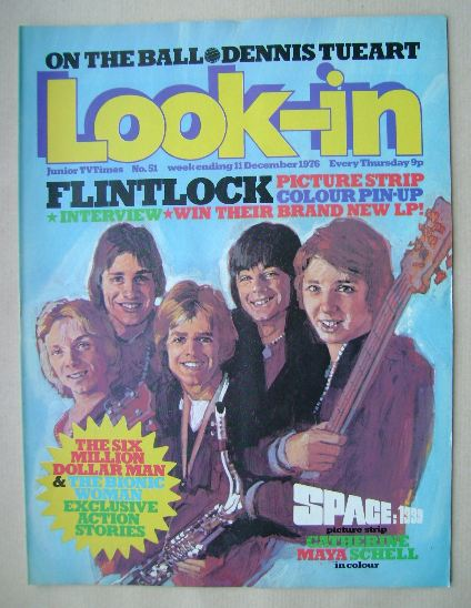 <!--1976-12-11-->Look In magazine - Flintlock cover (11 December 1976)