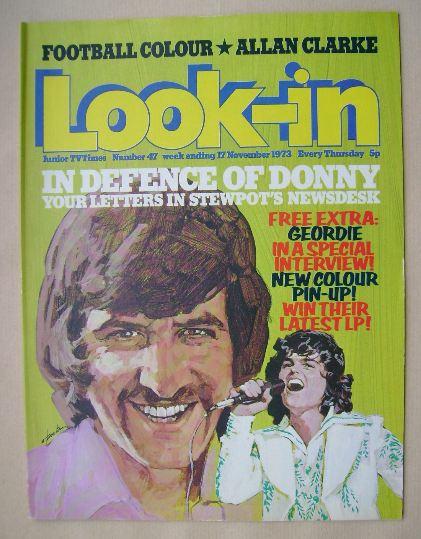 <!--1973-11-17-->Look In magazine - 17 November 1973