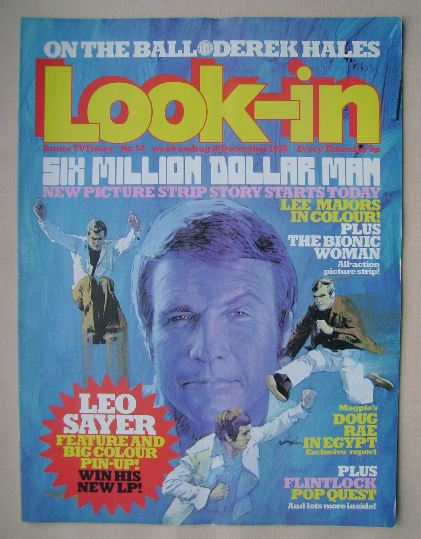 <!--1976-12-18-->Look In magazine - Lee Majors cover (18 December 1976)