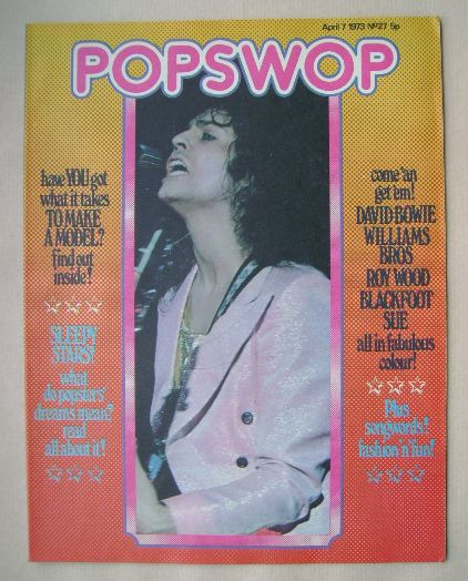 <!--1973-04-07-->Popswop magazine - 7 April 1973