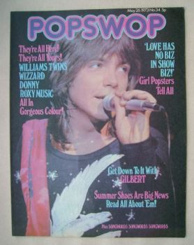 Popswop magazine - 26 May 1973 - David Cassidy cover