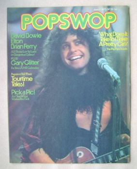 Popswop magazine - 2 June 1973 - Marc Bolan cover