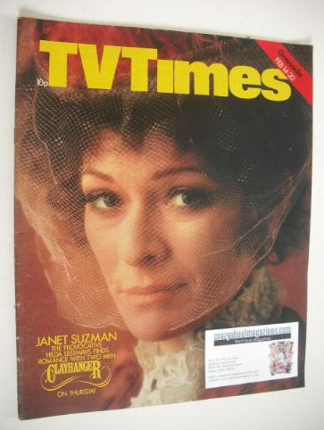<!--1976-02-14-->TV Times magazine - Janet Suzman cover (14-20 February 197