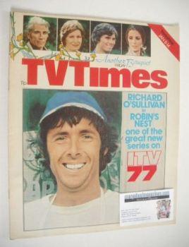 TV Times magazine - Richard O'Sullivan cover (8-14 January 1977)