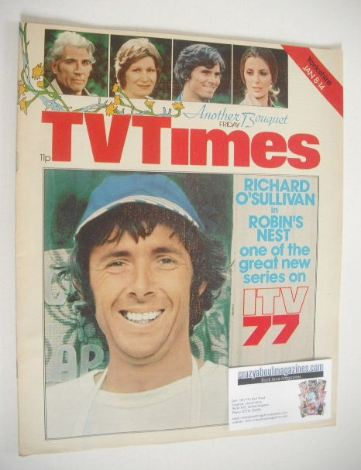 <!--1977-01-08-->TV Times magazine - Richard O'Sullivan cover (8-14 January