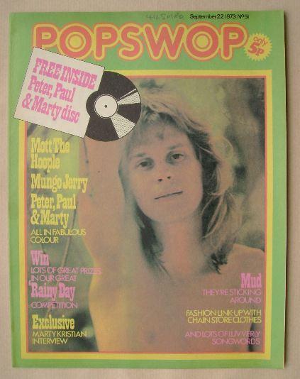 <!--1973-09-22-->Popswop magazine - 22 September 1973