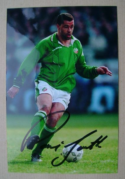 Paul McGrath autograph