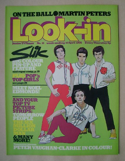 <!--1976-04-10-->Look In magazine - Slik cover (10 April 1976)